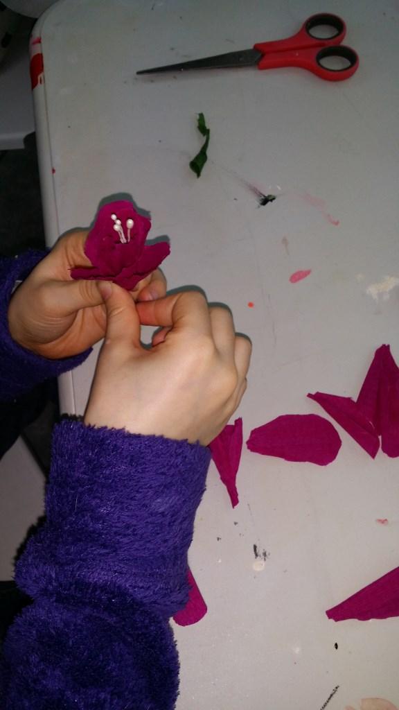 faire une fleur